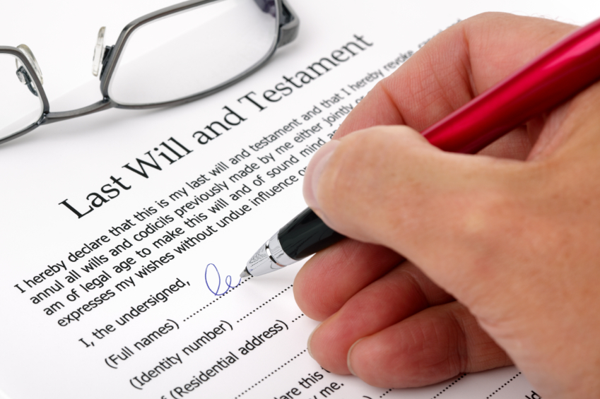 Reasons for making wills