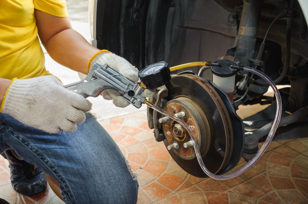 Details about the brake repair procedure